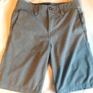 Gray volcom shorts